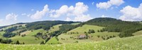 """Clouds over a hill, Glottertal Valley, Sankt Margen, Black Forest, Baden-Wurttemberg, Germany by Panoramic Images - 27"""" x 9"""""""