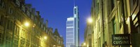 """Heron Tower from London Wall, City of London, London, England by Panoramic Images - 27"""" x 9"""""""