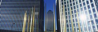 "Buildings in a city, Canada Square Building, Canary Wharf, Isle of Dogs, London, England by Panoramic Images - 27"" x 9"""