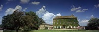 """Facade of a building, Crakehall, Bedale, North Yorkshire, England by Panoramic Images - 27"""" x 9"""""""