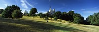 """Observatory on a Hill, Royal Observatory, Greenwich Park, Greenwich, London, England by Panoramic Images - 27"""" x 9"""""""