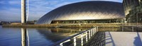 """Close Up of the Glasgow Science Centre in River Clyde, Glasgow, Scotland by Panoramic Images - 27"""" x 9"""""""