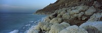"""Rock formations on the coast, Arabah, Jordan by Panoramic Images - 27"""" x 9"""""""