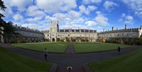 The Quadrangle in University College Cork, aka UCC,Cork City, Ireland Fine Art Print