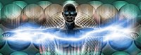 """Digital man by Panoramic Images - 27"""" x 9"""""""
