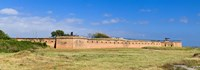 """Fort Gaines on Dauphin Island, Alabama, USA by Panoramic Images - 27"""" x 9"""""""
