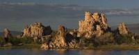 "Tufa formations at Mono Lake, California by Panoramic Images - 27"" x 9"""
