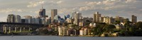 """Sydney Harbor, Sydney, New South Wales, Australia by Panoramic Images - 27"""" x 9"""" - $28.99"""