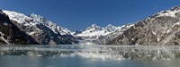 "Johns Hopkins Glacier in Glacier Bay National Park, Alaska, USA by Panoramic Images - 27"" x 9"""
