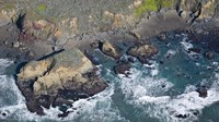 """Aerial view of a coast, San Luis Obispo County, California, USA by Panoramic Images - 27"""" x 9"""""""