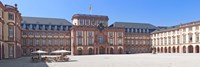 """Facade of the palace, Mannheim Palace, Mannheim, Baden-Wurttemberg, Germany by Panoramic Images - 27"""" x 9"""""""