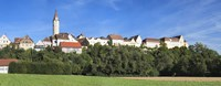 """Buildings in a town, Kirchberg an der Jagst, Schwabisch Hall, Baden-Wurttemberg, Germany by Panoramic Images - 27"""" x 9"""""""