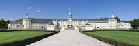 """Facade of a castle, Karlsruhe Castle, Karlsruhe, Baden-Wurttemberg, Germany by Panoramic Images - 27"""" x 9"""""""
