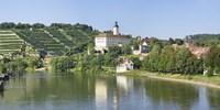 """Horneck Castle, Gundelsheim, Neckar River, Baden-Wurttemberg, Germany by Panoramic Images - 27"""" x 9"""" - $28.99"""
