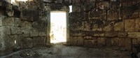 "Doorway in the Roman town ruins of Hierapolis at Pamukkale, Anatolia, Central Anatolia Region, Turkey by Panoramic Images - 27"" x 9"""