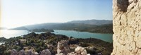 """View from the Byzantine Castle, Kekova, Lycia, Antalya Province, Turkey by Panoramic Images - 27"""" x 9"""""""