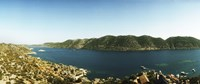 "Mediterranean Sea at Kekova, Lycia, Antalya Province, Turkey by Panoramic Images - 27"" x 9"""
