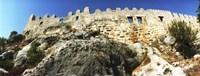 "Byzantine castle of Kalekoy, Antalya Province, Turkey by Panoramic Images - 27"" x 9"", FulcrumGallery.com brand"