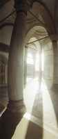 """Interiors of Topkapi Palace in Istanbul, Turkey (vertical) by Panoramic Images - 9"""" x 27"""""""