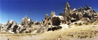 """Landscape with the caves and Fairy Chimneys, Cappadocia, Central Anatolia Region, Turkey by Panoramic Images - 27"""" x 9"""""""