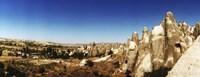 Cappadocia Landscape Central Anatolia Region Turkey