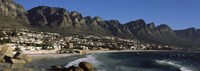 "Town at the coast with a mountain range, Twelve Apostle, Camps Bay, Cape Town, Western Cape Province, Republic of South Africa by Panoramic Images - 27"" x 9"" - $28.99"