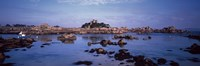 "Costaeres Castle, Cote de Granit Rose, Ploumanach, Perros-Guirec, Cotes-D'Armor, Brittany, France by Panoramic Images - 27"" x 9"""
