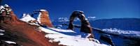 USA, Utah, Delicate Arch, winter Fine Art Print