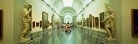 """Interior Of Prado Museum, Madrid, Spain by Panoramic Images - 36"""" x 12"""""""