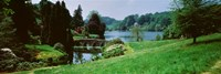 """Stourhead Garden, England, United Kingdom by Panoramic Images - 36"""" x 12"""""""