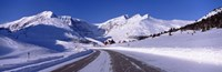 "Canada, Alberta, Banff National Park, icefield, road by Panoramic Images - 36"" x 12"""