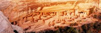 "Ruins, Cliff Palace, Mesa Verde, Colorado, USA by Panoramic Images - 36"" x 12"""
