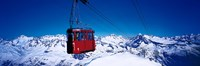 "Cable Car Andermatt Switzerland by Panoramic Images - 36"" x 12"""
