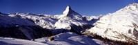 """Matterhorn, Zermatt, Switzerland (horizontal) by Panoramic Images - 36"""" x 12"""""""