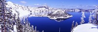 """USA, Oregon, Crater Lake National Park by Panoramic Images - 36"""" x 12"""""""