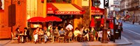 Cafe, Paris, France Fine Art Print