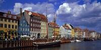 Denmark, Copenhagen, Nyhavn Fine Art Print