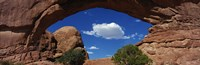 "North Window, Arches National Park, Utah, USA by Panoramic Images - 36"" x 12"""