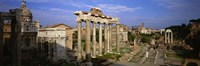 """Forum, Rome, Italy by Panoramic Images - 36"""" x 12"""""""