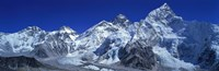 Himalaya Mountains (Mt Everest), Nepal Fine Art Print