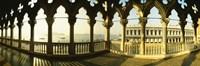 Columns in Saint Mark Square, Venice Fine Art Print