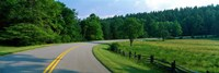 """Blue Ridge Parkway NC by Panoramic Images - 36"""" x 12"""""""