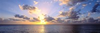 Sunset 7 Mile Beach Cayman Islands Caribbean Fine Art Print