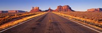 Road Monument Valley, Arizona, USA Fine Art Print