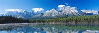 "Herbert Lake Banff National Park Canada by Panoramic Images - 36"" x 12"""