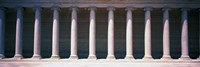 """Row of Columns San Francisco CA by Panoramic Images - 36"""" x 12"""" - $34.99"""