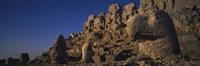 "Rocks on a cliff, Mount Nemrut, Nemrud Dagh, Cappadocia, Antolia, Turkey by Panoramic Images - 36"" x 12"""