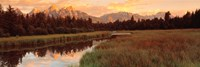 Sunrise Grand Teton National Park, Wyoming, USA Fine Art Print