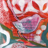 "Petite Bird III by Amanda J. Brooks - 12"" x 12"""