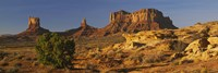 Rock Formations, Monument Valley, Arizona, USA (day, horizontal) Fine Art Print